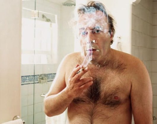 Christopher Hitchens Smoking