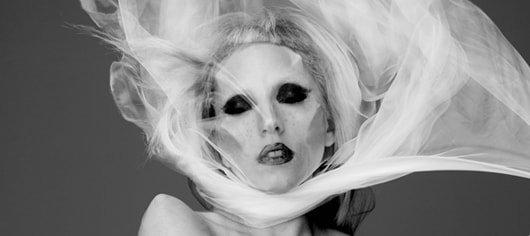 Lady Gaga Ghoul Veil