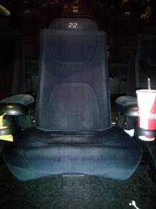 Arclight Cinema Seat