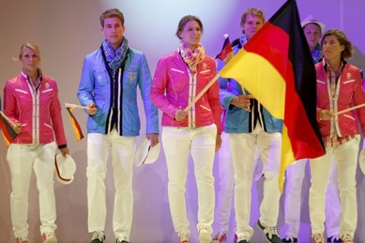German Olympic Uniforms