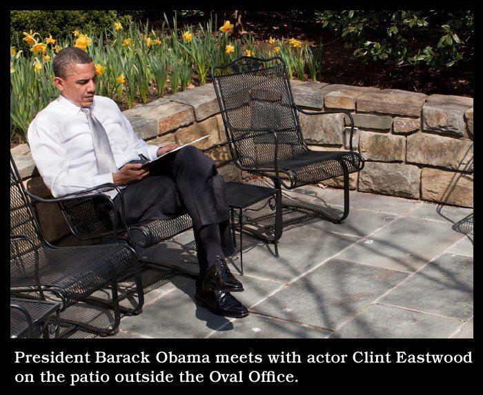 Obama Pation Eastwood Meme