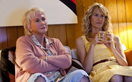 Diane Ladd and Laura Dern