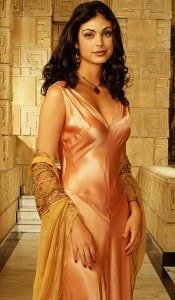Morena Baccarin Nightgown