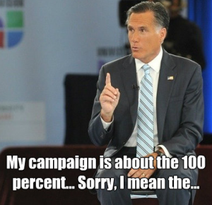Mitt Romney One Percent