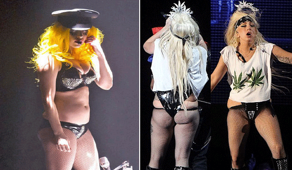 Lady Gaga fat