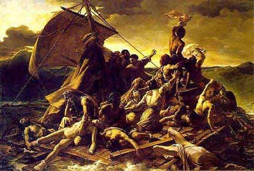 Géricault Raft of the Medusa