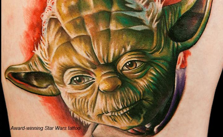 Tatu Baby Yoda