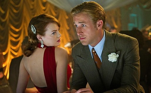 Emma Stone and Ryan Gosling Gangster Squad