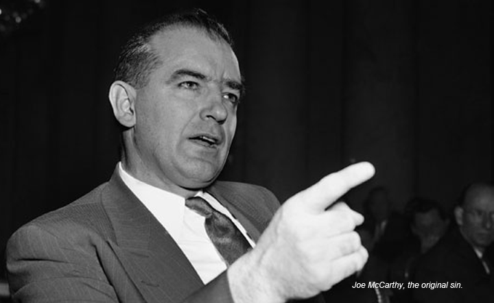 The New G.O.P.: What's in an Adjective? Everything.   Pure ... Joseph Mccarthy