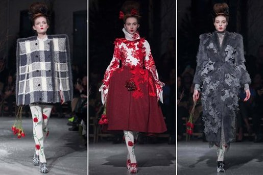 Thom Browne womens fall/winter 2013