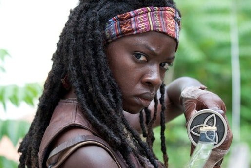 Danai Gurira as Michonne