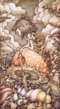 """In The Mushroom Garden"" by Adam Oehlers"