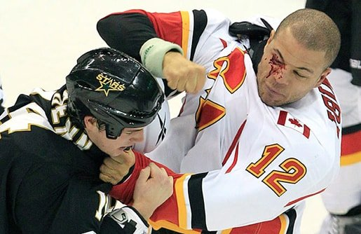 Jerome Iginla as a Calgary Flame