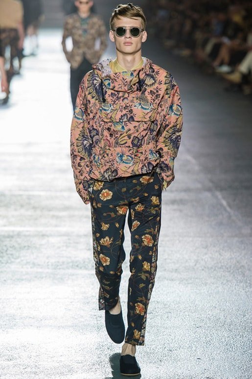 Dries Van Noten Men SS 2014