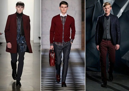 Men's Fall color trends