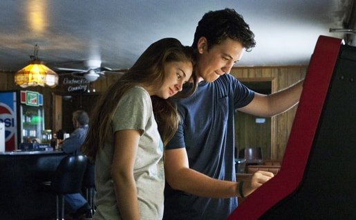 Miles Teller and Shailene Wooley The Spectacular Now