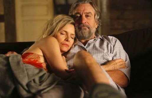 Michelle Pfeiffer Robert De Niro the Family