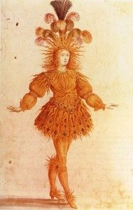 Ballet costume for Louis XIV