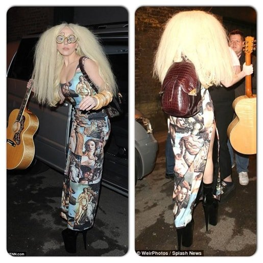 Lady Gaga backpack