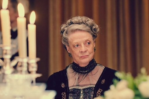 Maggie Smith Violet Crawley