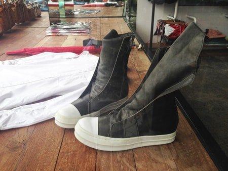 Fake Rick Owens boots