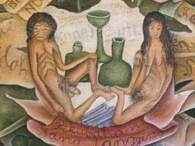 Erotic Balinese Art