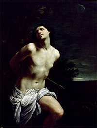 Saint Sebastian by Guido Reni
