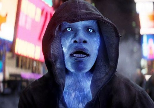 Oh, Yeah. Jamie Foxx as Electro. Forgot about that. (Slow clap.)