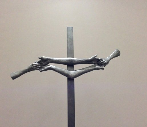 56. Louise Bourgeois Touching Christ