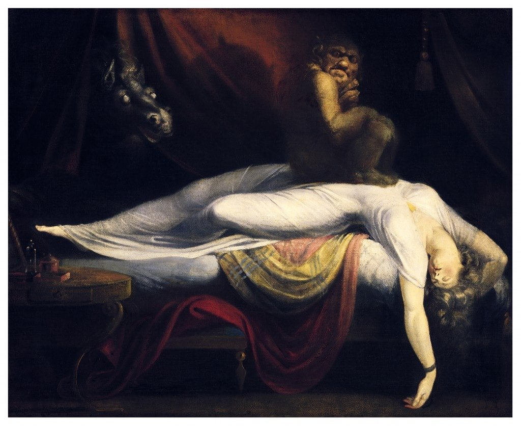 """The Nightmare,"" Henry Fuseli, 1781"