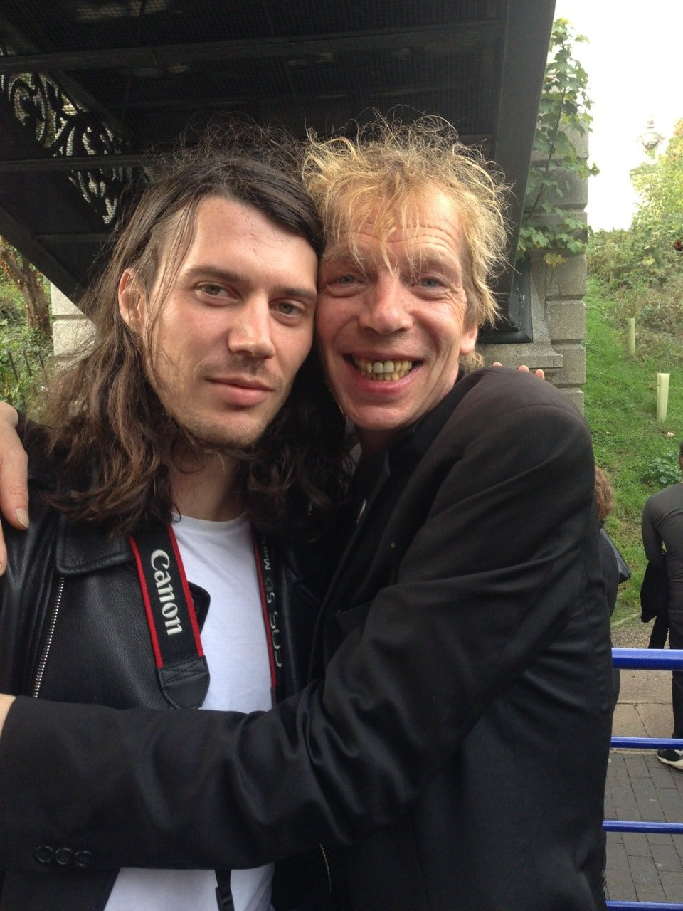 Lucky Luke and David Hoyle