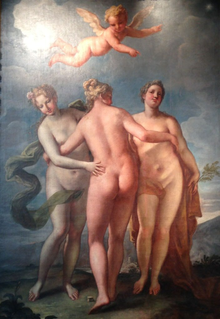 Three graces I wish I could be (from Frieze Masters)